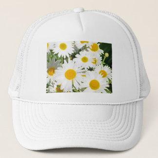 LOVELY YELLOW DAISY TRUCKER HAT