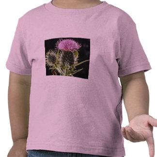 LovelySpear thistle, cirsium vulgare Tshirts