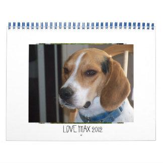 LOVEMAX 2012 Calendar