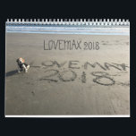 "LOVEMAX 2018 CALENDAR<br><div class=""desc"">Your favorite beagle Facebook friend is back with another calendar!</div>"