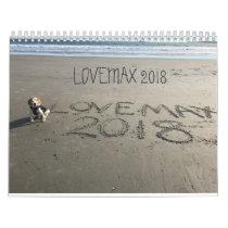 LOVEMAX 2018 CALENDAR