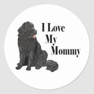 LoveMommy Classic Round Sticker
