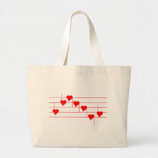 Love'n Notes Tote Bags