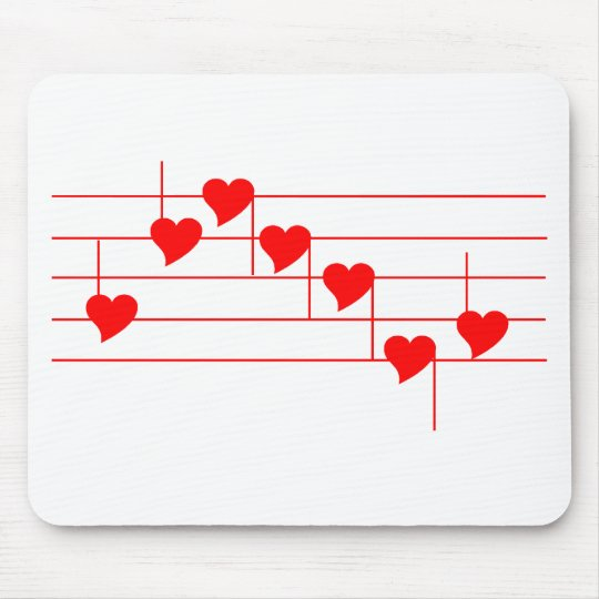 Love'n Notes Mouse Pad