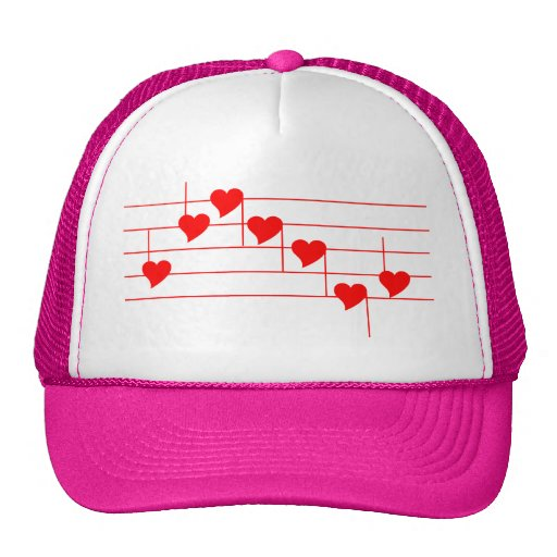 Love'n observa el casquillo rosado gorros