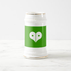 loveNpeace Beer Stein