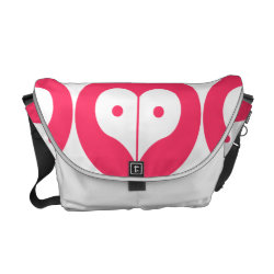 loveNpeace Courier Bag