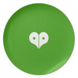 loveNpeace Melamine Plate