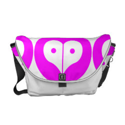 loveNpeace Messenger Bag
