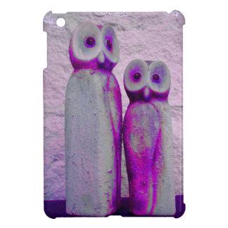 LoveOwls Cute Christmas Animal Pink Purple Cover For The iPad Mini