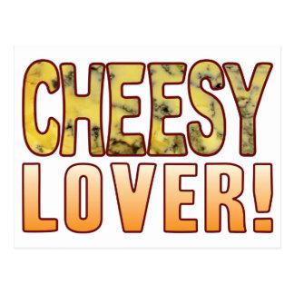 Lover Blue Cheesy Postcard