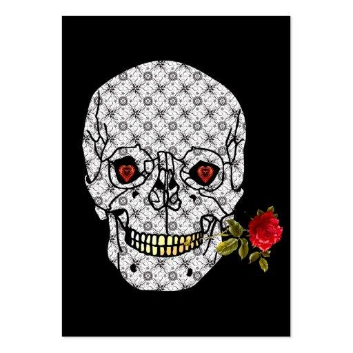 Lover Boy Skull Business Card Templates