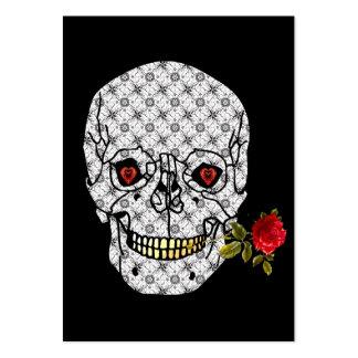 Lover Boy Skull Large Business Card