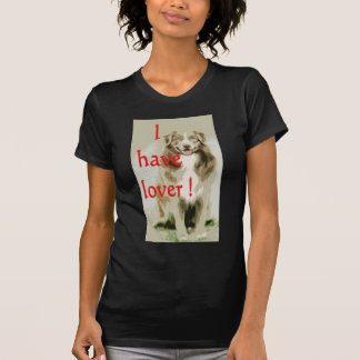 Lover cartoon dog shirts