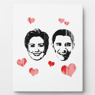 Lover for Hillary and Obama Faded.png Photo Plaques