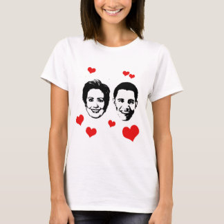 Lover for Hillary and Obama.png T-Shirt
