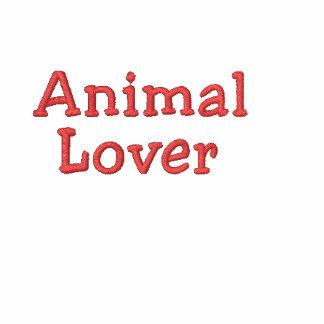 Lover_Heart animal en Sleeve_Heart-Paw bordó Polo T-shirt