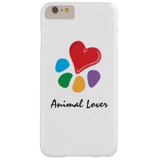 ¡Lover_Heart-Paw_Love animal sus mascotas! Funda De iPhone 6 Plus Barely There