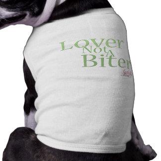 Lover Not A Biter Dog T-Shirt-mint T-Shirt