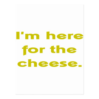 Lover of Cheese Postcard