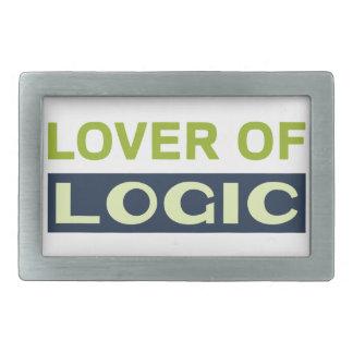 Lover of Logic Belt Buckle