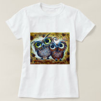 Lover owl family friend T-Shirt