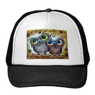 Lover owl family friend trucker hat