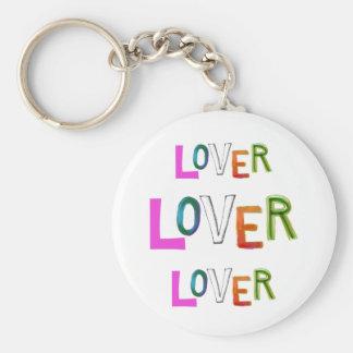 Lover partner girlfriend boyfriend spouse word art keychain