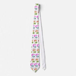 Lover partner girlfriend boyfriend spouse word art neck tie