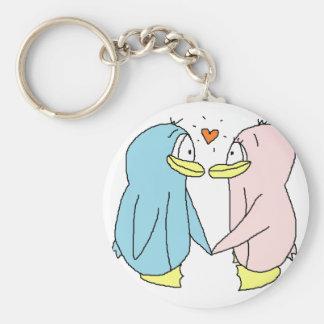 Lover Penguins Keychain