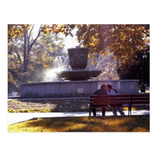 Lover s Fountain - Crimea Post Card