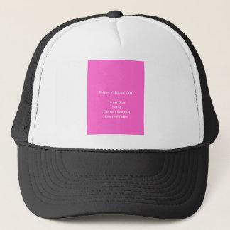 Lover Valentine's day Trucker Hat
