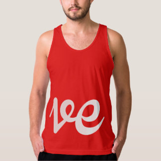 LOVER WRITING RIGHT - WHITE -.png Tank Top