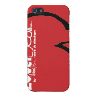 LoverBear by MARTINfree--iPhone 4 case, swoosh red