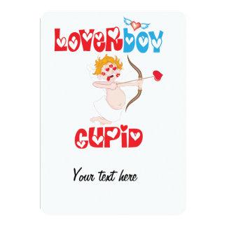 Loverboy Cupid 5x7 Paper Invitation Card