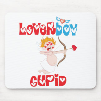 Loverboy Cupid Mouse Pad