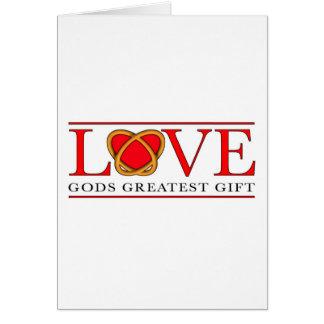 LoveRings Greeting Card