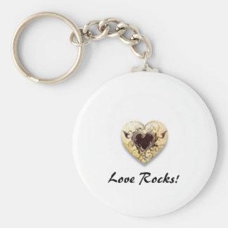 LoveRocks! Keychain