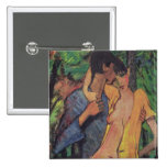 Lovers 2 Inch Square Button