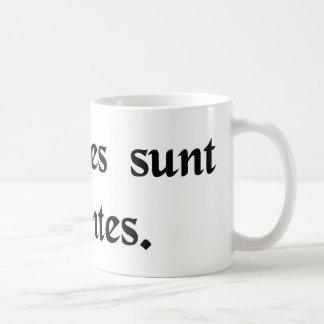 Lovers are lunatics coffee mug