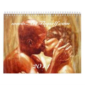 Lovers Art 2011 Calendar