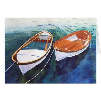 Lovers at Sea Card