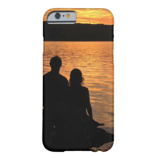 Lovers at Sunset Lake  iPhone 6 Case