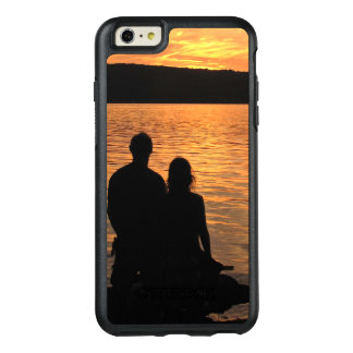 Lovers at Sunset Lake OtterBox iPhone 6 Plus Case