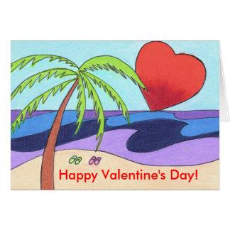 Lover's Beach Card