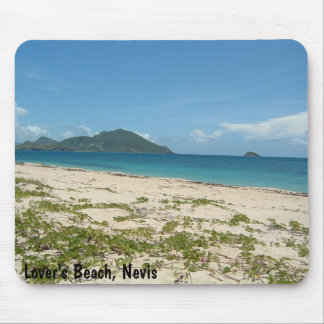 Lover's Beach, Nevis Mouse Pad