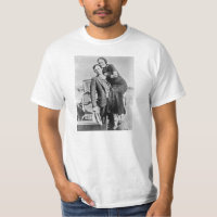 Lovers Bonnie and Clyde T-Shirt