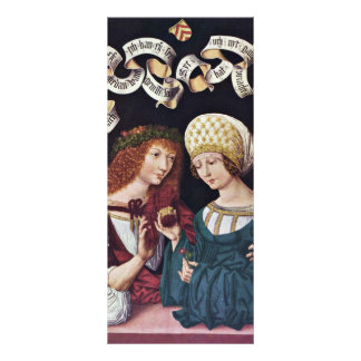 Lovers By Meister Des Hausbuches (Best Quality) Personalized Rack Card