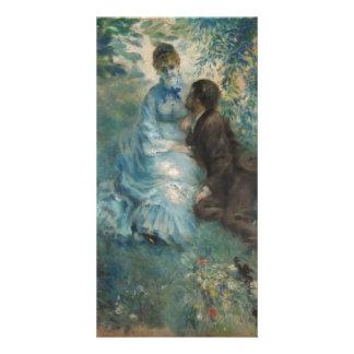Lovers by Pierre-Auguste Renoir Photo Card