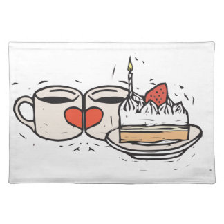 Lovers Cake Placemat